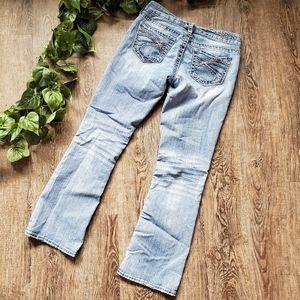 Silver Aiko Bootcut Light Blue Denim Jeans